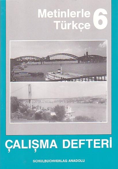 Metinlerle Türkçe 6 Çalışma Defteri