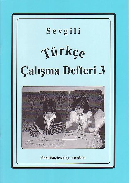 Sevgili Türkçe Çalışma Defteri 3