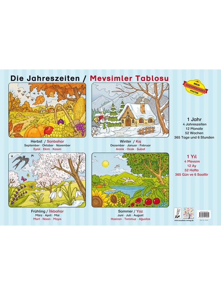 Die Jahreszeiten / Türkisch