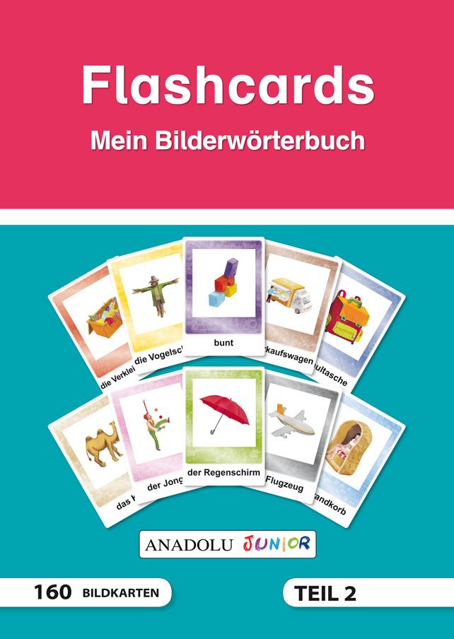 Flashcards Mein Bilderwörterbuch Teil 2