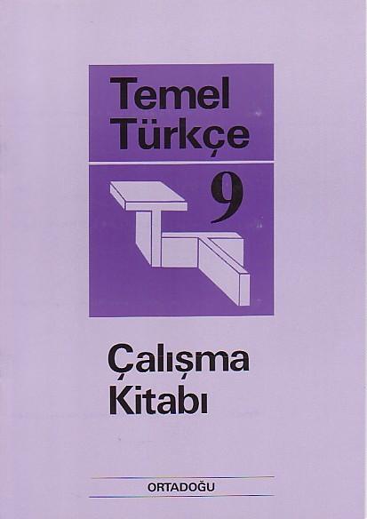 Temel Türkçe 9 Çalışma Defteri