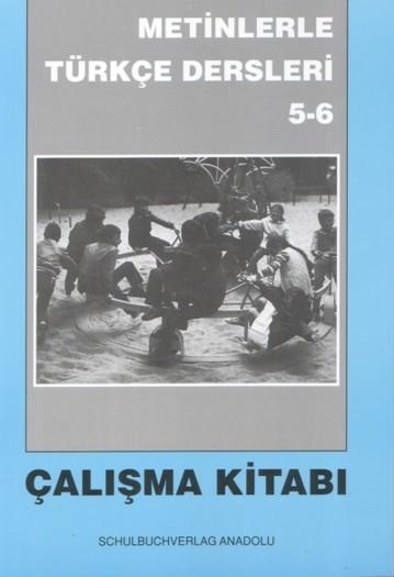 Metinlerle Türkçe 5-6 Çalışma Defteri