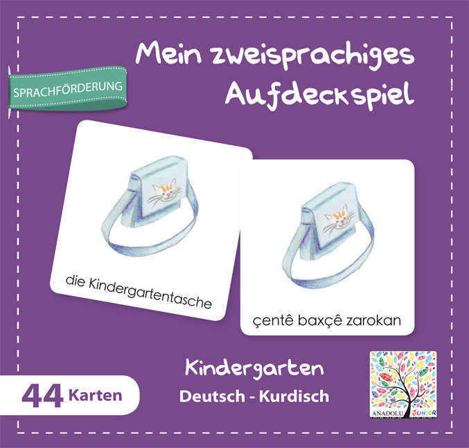 Aufdeckspiel Kindergarten