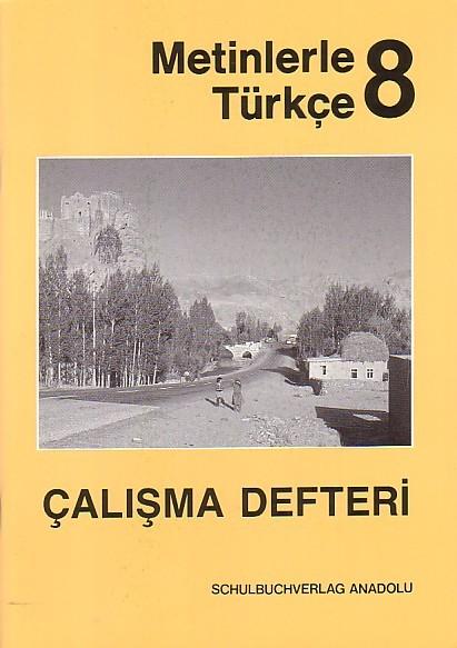 Metinlerle Türkçe 8 Çalışma Defteri