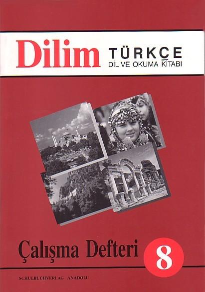 Dilim Türkçe 8 Çalışma Defteri