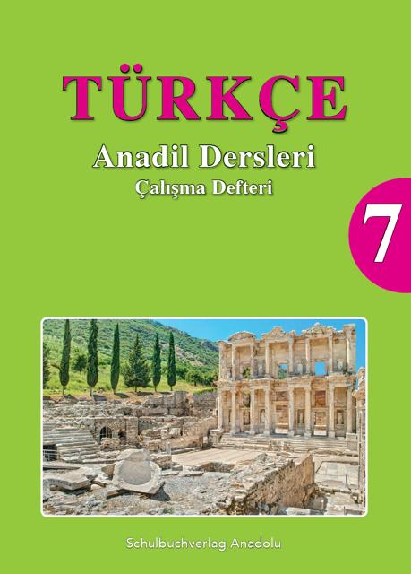Türkçe Anadil Dersleri 7 Çalışma Defteri