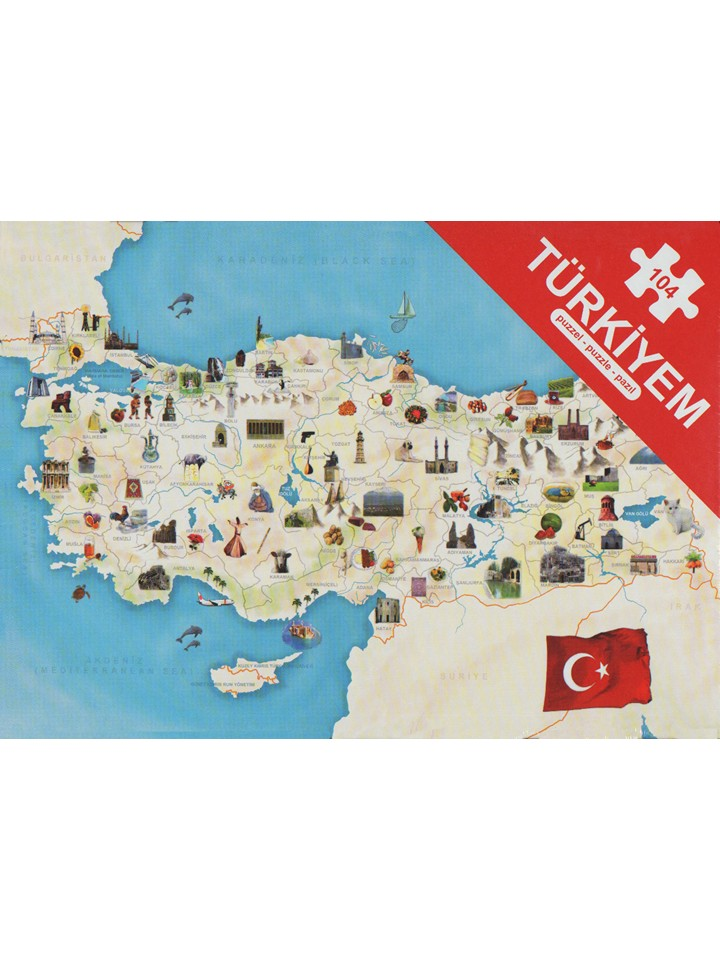 Türkiyem Puzzle