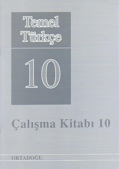 Temel Türkçe 10 Çalışma Defteri
