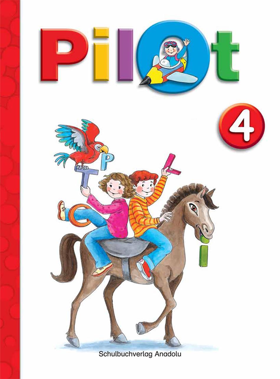 Pilot 4 Almanca - Türkçe Ders Kitabı