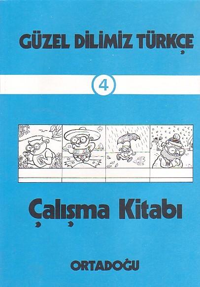 Güzel Dilimiz Türkçe Çalışma Defteri 4