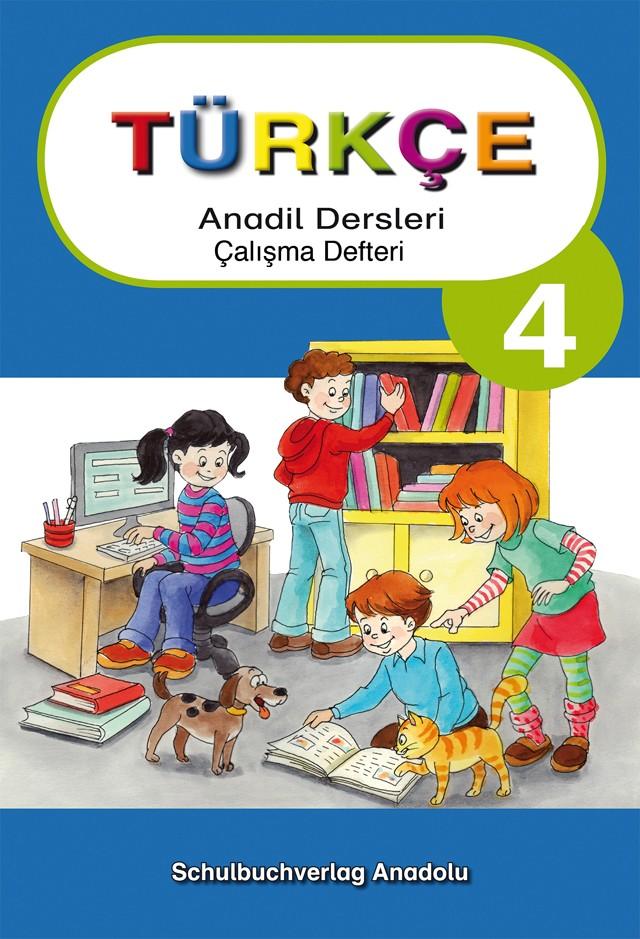 Türkçe Anadil Dersleri 4 Çalışma Defteri