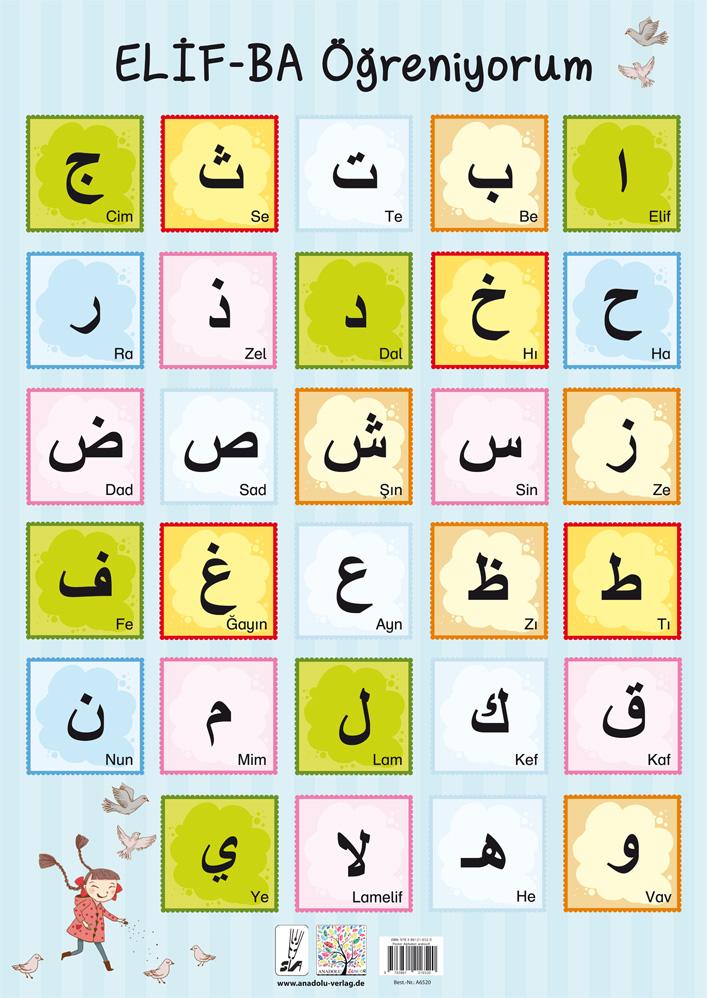 Alphabet / Arabisch