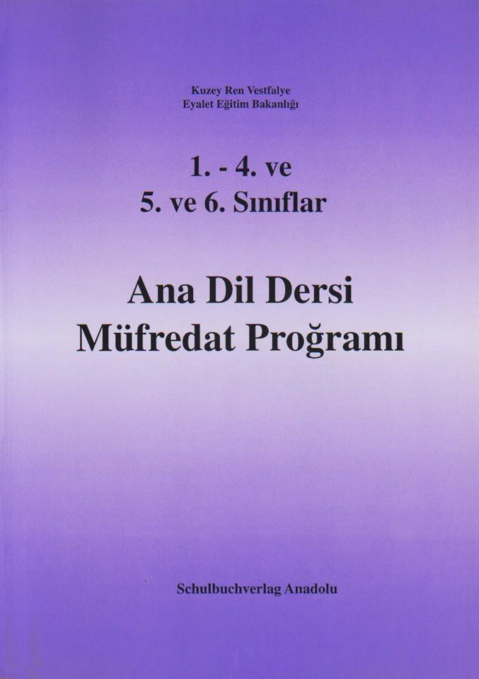 Ana Dil Dersi Müfredat Proğramı